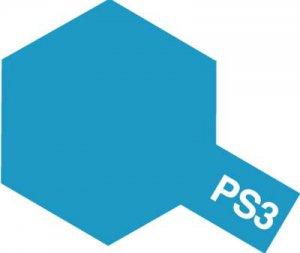 PS-3・タミヤ製 PS-3 ライトブルー ポリカーボネートスプレー
