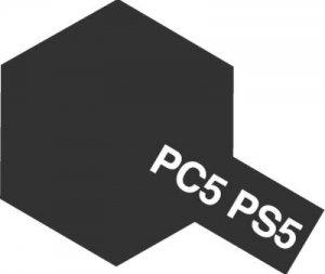 PS-5・タミヤ製 PS-5 ブラック ポリカーボネートスプレー
