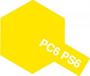 PS-6・タミヤ製 PS-6 イエロー ポリカーボネートスプレー