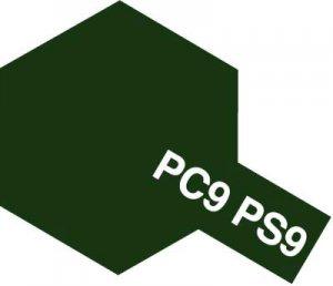 PS-9・タミヤ製 PS-9 グリーン ポリカーボネートスプレー