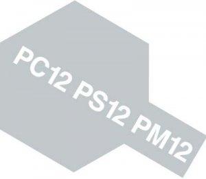 PS-12・タミヤ製 PS-12 シルバー ポリカーボネートスプレー
