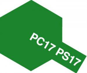 PS-17・タミヤ製 PS-17 メタリックグリーン ポリカーボネートスプレー