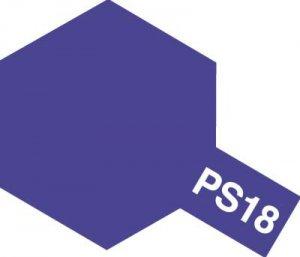 PS-18・タミヤ製 PS-18 メタリックパープル ポリカーボネートスプレー