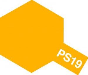 PS-19・タミヤ製 PS-19 キャメルイエロー ポリカーボネートスプレー