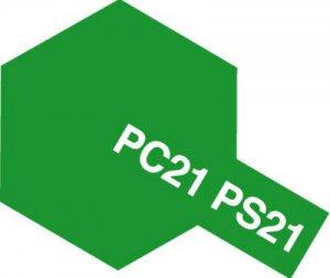 PS-21・タミヤ製 PS-21 パークグリーン ポリカーボネートスプレー