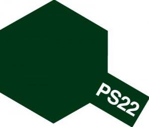 PS-22・タミヤ製 PS-22 レーシンググリーン ポリカーボネートスプレー