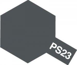 PS-23・タミヤ製 PS-23 ガンメタル ポリカーボネートスプレー
