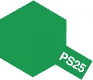 PS-25・タミヤ製 PS-25 ブライトグリーン ポリカーボネートスプレー