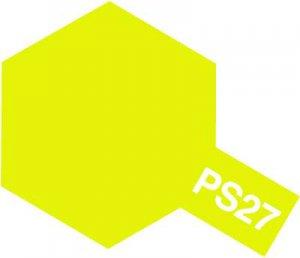 PS-27・タミヤ製 PS-27 蛍光イエロー ポリカーボネートスプレー