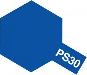 PS-30・タミヤ製 PS-30 ブリリアントブルー ポリカーボネートスプレー