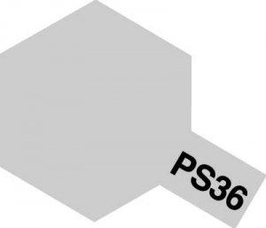 PS-36・タミヤ製 PS-36 フロストシルバー ポリカーボネートスプレー