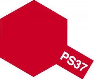 PS-37・タミヤ製 PS-37 フロストレッド ポリカーボネートスプレー