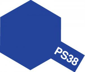 PS-38・タミヤ製 PS-38 フロストブルー ポリカーボネートスプレー