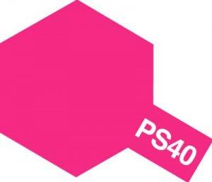 PS-40・タミヤ製 PS-40 フロストピンク ポリカーボネートスプレー