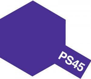 PS-45・タミヤ製 PS-45 フロストパープル ポリカーボネートスプレー