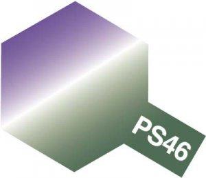 PS-46・タミヤ製 PS-46 偏光パープル/グリーン ポリカーボネートスプレー