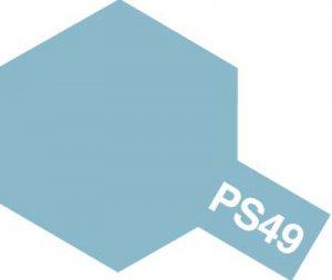 PS-49・タミヤ製 PS-49 スカイブルーアルマイト ポリカーボネートスプレー
