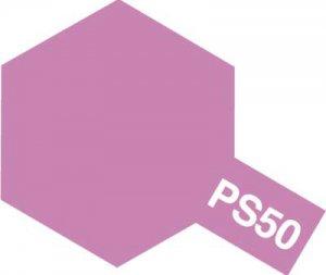 PS-50・タミヤ製 PS-50 スパークルピンクアルマイト ポリカーボネートスプレー