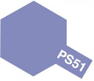 PS-51・タミヤ製 PS-51 パープルアルマイト ポリカーボネートスプレー