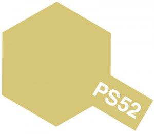 PS-52・タミヤ製 PS-52 シャンパンゴールドアルマイト ポリカーボネートスプレー