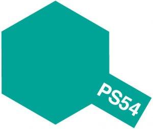 PS-54・タミヤ製 PS-54 コバルトグリーン ポリカーボネートスプレー