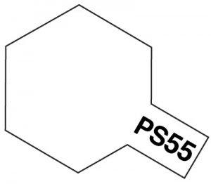 PS-55・タミヤ製 PS-55 フラットクリヤー ポリカーボネートスプレー