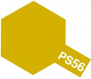 PS-56・タミヤ製 PS-56 マスタードイエロー ポリカーボネートスプレー
