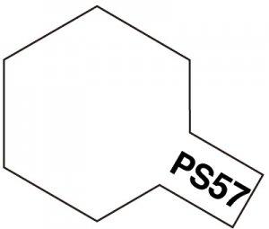 PS-57・タミヤ製 PS-57 パールホワイト ポリカーボネートスプレー