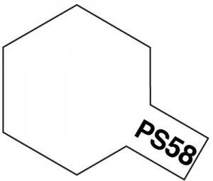 PS-58・タミヤ製 PS-58 パールクリヤー ポリカーボネートスプレー