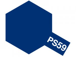PS-59・タミヤ製 PS-59 ダークメタリックブルー ポリカーボネートスプレー
