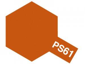 PS-61・タミヤ製 PS-61 メタリックオレンジ ポリカーボネートスプレー
