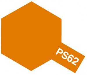 PS-62・タミヤ製 PS-62 ピュアーオレンジ ポリカーボネートスプレー