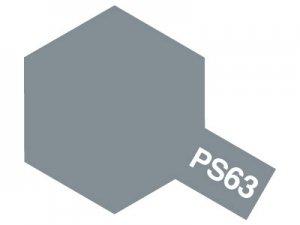 PS-63・タミヤ製 PS-63 ブライトガンメタル ポリカーボネートスプレー