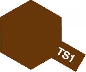 TS-1・タミヤ製 TS-1 レッドブラウン タミヤスプレー