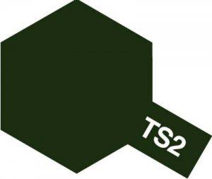 TS-2・タミヤ製 TS-2 ダークグリーン タミヤスプレー