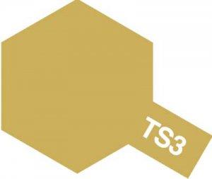 TS-3・タミヤ製 TS-3 ダークイエロー タミヤスプレー