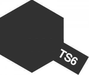 TS-6・タミヤ製 TS-6 マットブラック タミヤスプレー