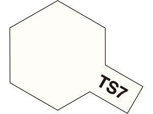 TS-7・タミヤ製 TS-7 レーシングホワイト タミヤスプレー