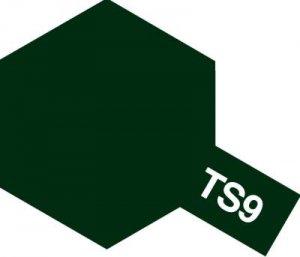 TS-9・タミヤ製 TS-9 ブリティシュグリーン タミヤスプレー