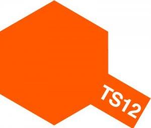 TS-12・タミヤ製 TS-12 オレンジ タミヤスプレー