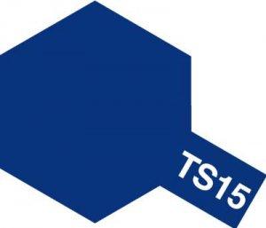 TS-15・タミヤ製 TS-15 ブルー タミヤスプレー