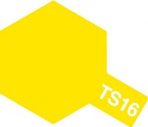 TS-16・タミヤ製 TS-16 イエロー タミヤスプレー