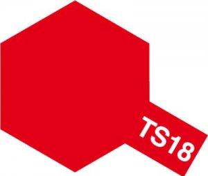 TS-18・タミヤ製 TS-18 メタリックレッド タミヤスプレー
