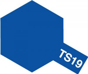 TS-19・タミヤ製 TS-19 メタリックブルー タミヤスプレー
