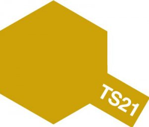 TS-21・タミヤ製 TS-21 ゴールド タミヤスプレー