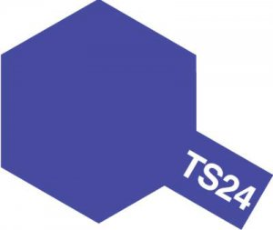 TS-24・タミヤ製 TS-24 パープル タミヤスプレー