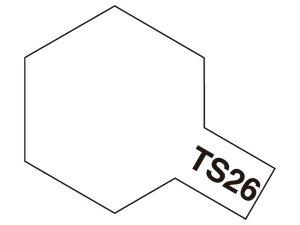 TS-26・タミヤ製 TS-26 ピュアーホワイト タミヤスプレー