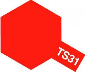 TS-31・タミヤ製 TS-31 ブライトオレンジ タミヤスプレー