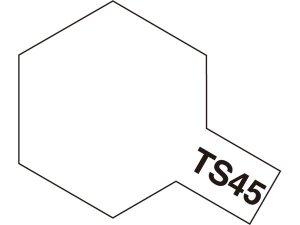 TS-45・タミヤ製 TS-45 パールホワイト タミヤスプレー