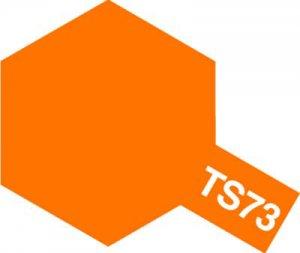 TS-73・タミヤ製 TS-73 クリヤーオレンジ タミヤスプレー